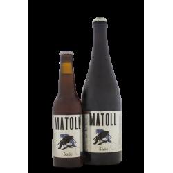 Cerveza artesana Matoll Saúco 75 cl