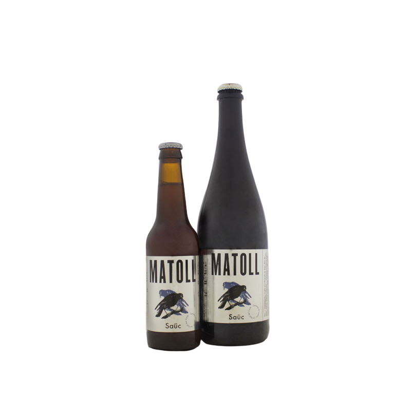 Cervesa artesana Matoll Saüc 33 cl