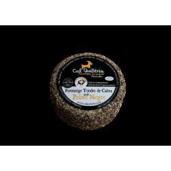 Formatge tendre de cabra amb pebre negre - Cal Quitèria